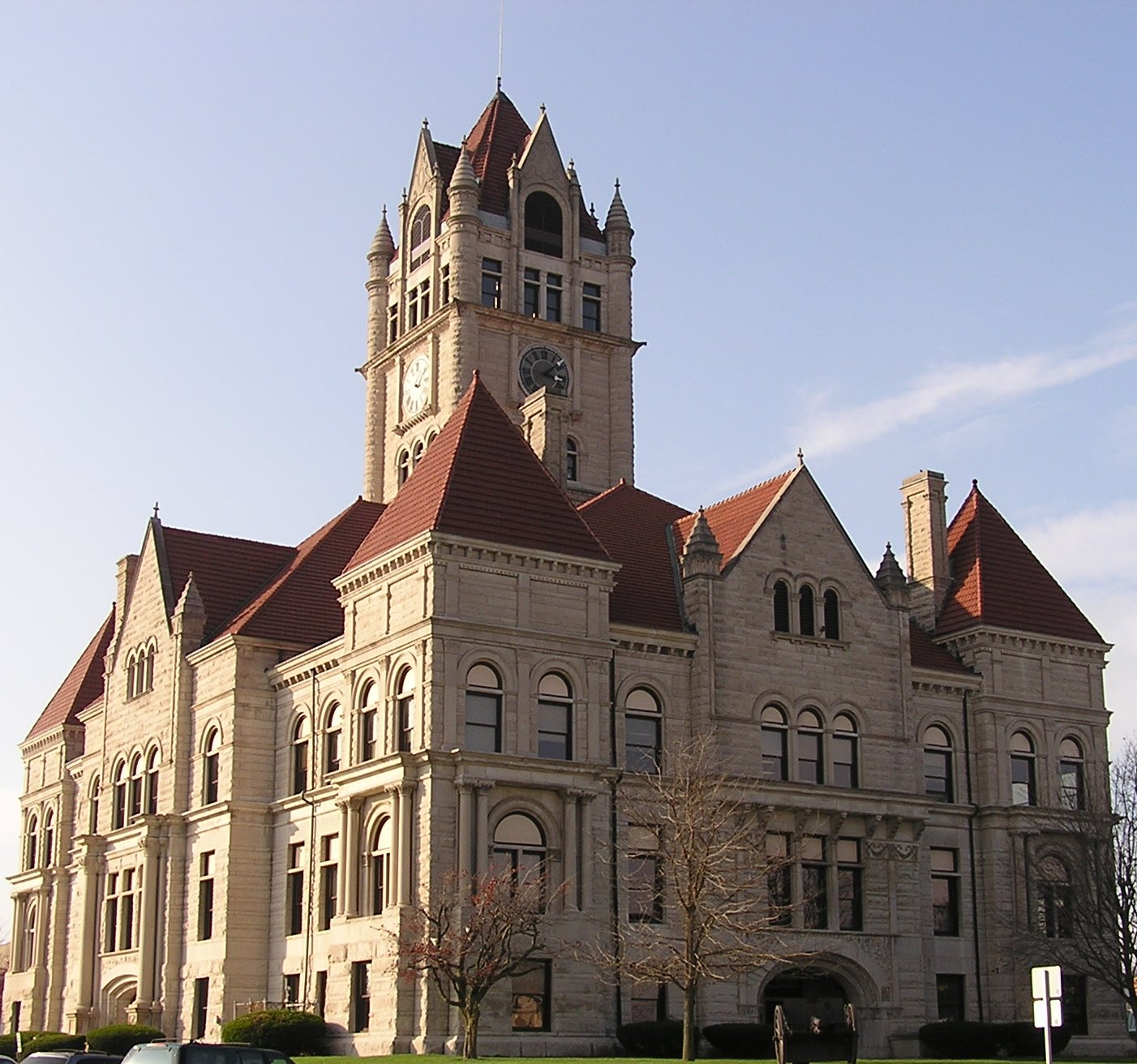 Indiana rush county - Rush County Courthouse Rushville Indiana